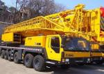 QY130K 130 Ton Hydraulic Mobile Crane With Hydraulic Outriggers