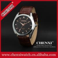 L021B Stainless Steel Case Wristwatches Aliexpress Ebay Watch Supplier Luxury Genuine Leather Watches Man