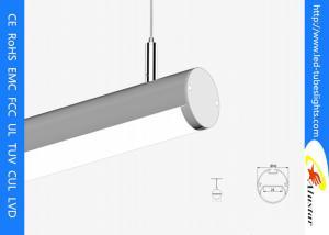 China SMD 5050 KTV Indoor Suspended LED Linear Light Round 2500mm  , LED Tube Light on sale