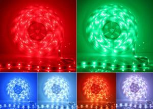 China 60 HZ 14.4 W RGB Led Strip Lighting Eco Friendly Long Life Span on sale