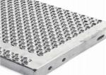 Perforated Galvanized Steel Stair Treads 1.5 - 5mm Thickness Anti Slip Surface