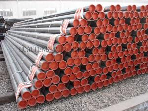 China Cold Drawn Seamless Alloy Steel Tube ASTM A21 , Beveled Boiler Steel Tubes 0.8 mm - 15 mm Thick on sale