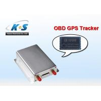 China Automotive Sim Card Small OBD2 / OBD GPS Tracker With Si RF III chip on sale