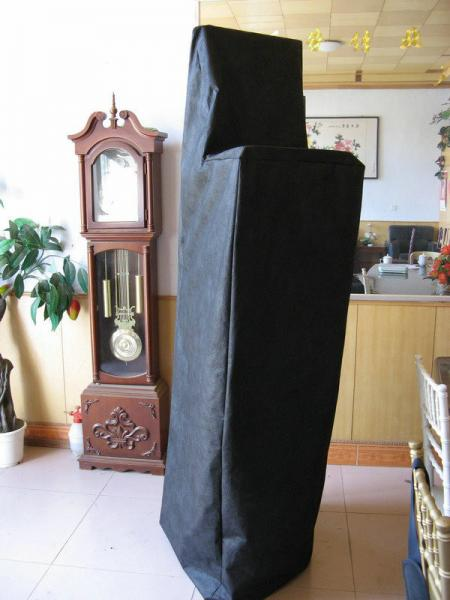 antique black protective chair covers for stacking chairs fabric
