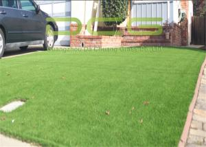 China Custom Beautiful Artificial Grass For Yard , Plastic Grass Carpet Easy Installation on sale