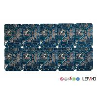 Multilayer High TG170 PCB Blue Solder Printed Circuit Board for GPS Displayer