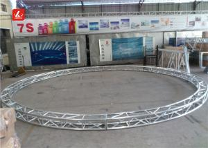 China 6m Outer Diameter Bolt Circle Curved Aluminum Lighting Truss For Party / Concert on sale