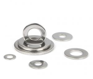 China DIN125A Flat Structural Fender Metal Flat Washers Customized on sale