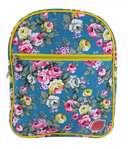 8a632277aa97 Skyblue Girls Fashion Bags Flower Print Womens Backpacks School Bookbag  Images