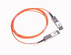 China Multimode QSFP28 Active Optical Cable 25Gbps 850nm With Hot Pluggable Electrical Interface on sale