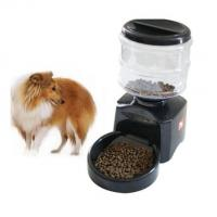 China timed automatic dog feeder for large dog Auto Pet Dry Food Dispenser on sale