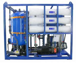 China Yacht boat seawater desalination RO plant, water softener RO system, fresh water maker on sale