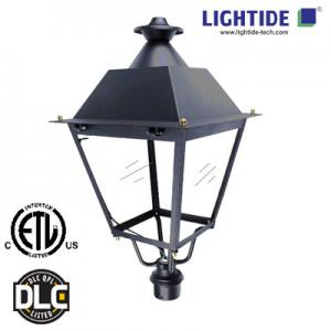 China DLC qualified LED Street Post Top Light Fixtures, 50W, 120-277VAC, 5100 lm, 5700K, 5 yrs warranty on sale