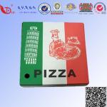 Caja de encargo de la entrega de la pizza del papel acanalado