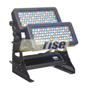China DMX512 Channels Flood Led Wall Washer Lights With 108x3W RGBW LEDs Lamp Source on sale