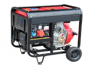 Quality Home Electric Start Diesel Generator 6.0kw 380V Durable TW 7500QX for sale