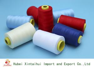 China Ring Spun 100 Polyester Sewing ThreadMulti Colored 20s-60s Free Sample on sale