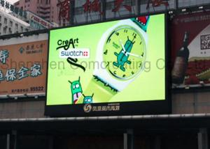 China Outdoor Commercial LED Advertising Screens Full Color High Brightness on sale