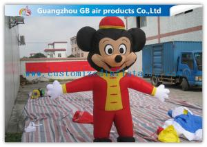 China Colorful Mickey Mouse Inflatable Christmas Decorations Adult Costume For Party on sale