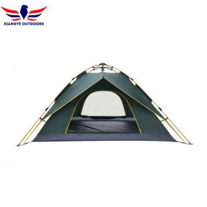 China Waterproof Lightweight Backpacking Tent 2 3 4 Person 3 Season 2 Doors 2 Layers on sale