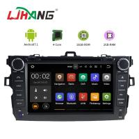 Left Hand Driving Multimedia Toyota Car DVD Player With MP3 MP4 DVR AUX