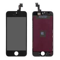 For Apple iPhone 5S LCD Screen and Digitizer Assembly - Black - Grade A+