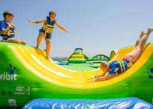 China Large Inflatable Water Park Playground for Festival Activities / Commercial Display on sale