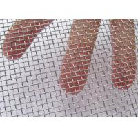 30Mesh * 30Mesh Woven Square Wire Meshs Hot Dipped Galvanized / Electric Galvanized Wire Meshs