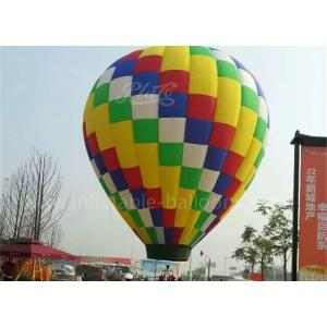 China 16m Big Advertising Hot Air Balloon Colorful Durable For 3 Persons on sale