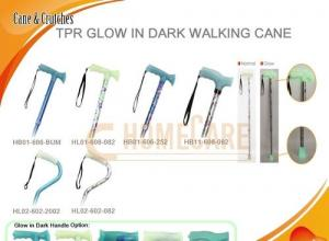 China TPR Glow In Dark Walking Cane on sale