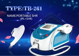 China Intense Pulse Light IPL SHR Hair Removal Machine For Hair Reduction Apply To Home Use on sale