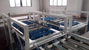 China Structural Insulated  MGO Panel Production Line with Automatic Mould Feeding on sale