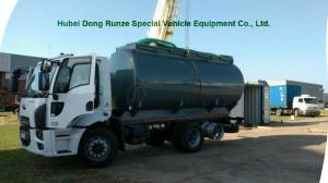 China Hydrochloric Acid transport Chemical Tanker Truck 15000L ~16000L Capacity on sale