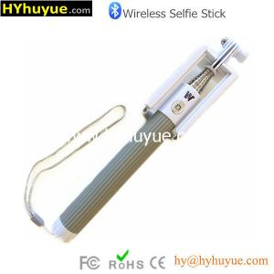 China Wholesale Selfie Stick mini foldable selfie stick with bluetooth shutter button on sale