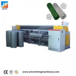 China Automatic reverse twist hexagonal wire netting machine Max Mesh Weaving Width Heavy Duty gabion machine on sale