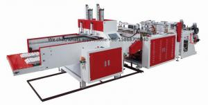 China High Performance T - Shirt Bag Manufacturing Machine 450pcs / Min Per Line on sale