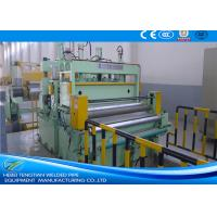 Professional Sheet Metal Slitter Machine , Metal Slitting Line Max 30T Coil Weight