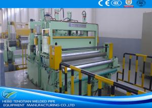 China Professional Sheet Metal Slitter Machine , Metal Slitting Line Max 30T Coil Weight on sale