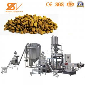 China Animal Pet Food Processing Equipment Big Capacity Kibble BV Certification on sale