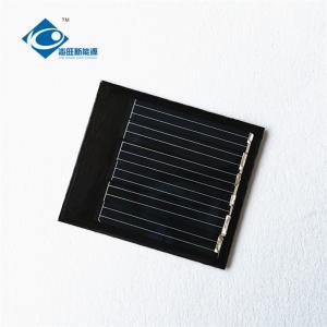 China 6 Battery High Efficiency Solar Panels 0.24W solar photovoltaic panels ZW-4035 small size mini epoxy solar panels on sale