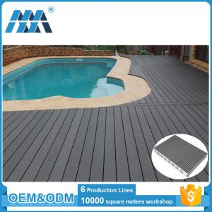 China high quality competitive environmental friendly wpc decking flooring for outdoor on sale