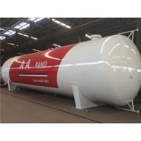 5 ~ 100 CBM LPG Skid Tank , Q345R Carbon Steel Liquefied Petroleum Gas Tank