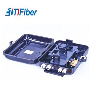 China ABS Material Fiber Optic Distribution Box FTTH Indoor Outdoor SC Adapters Suitable on sale