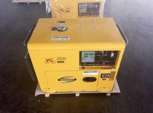 China 220 / 230 Volt Small Diesel Generators Portable With Digital Panel Board on sale