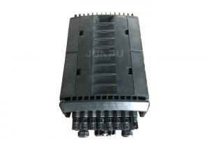 China Plastic Waterproof 48 Cores Fiber Optic Joint Closure / Cable Joint Box 4 In 16 Out on sale