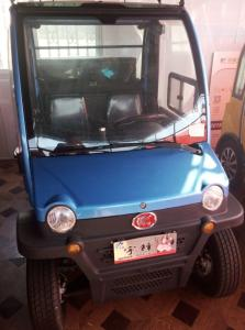 China Long Range Mini Full Electric Cars , Cool Four Seater Electric Car 3350*1540*1600mm on sale