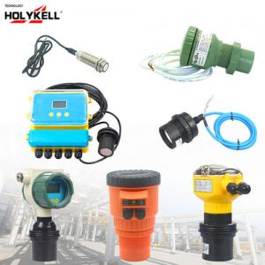 China Holykell Non Contact Ultrasonic Liquid Level Sensor on sale
