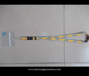 China New style eco-friendly lanyard & business plastic id card holder lanyard no minimum order on sale