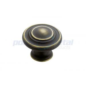 China Roman Bronze Zinc Alloy Cabinet Handles And Knobs , Kitchen Cupboard Door Knobs on sale