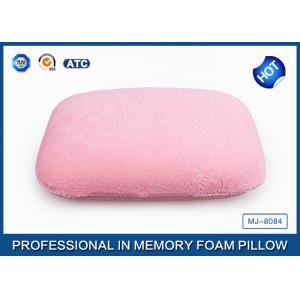 China Portable High Density Memory Foam Sleep Pillow For Car / Air / Home Decorative on sale